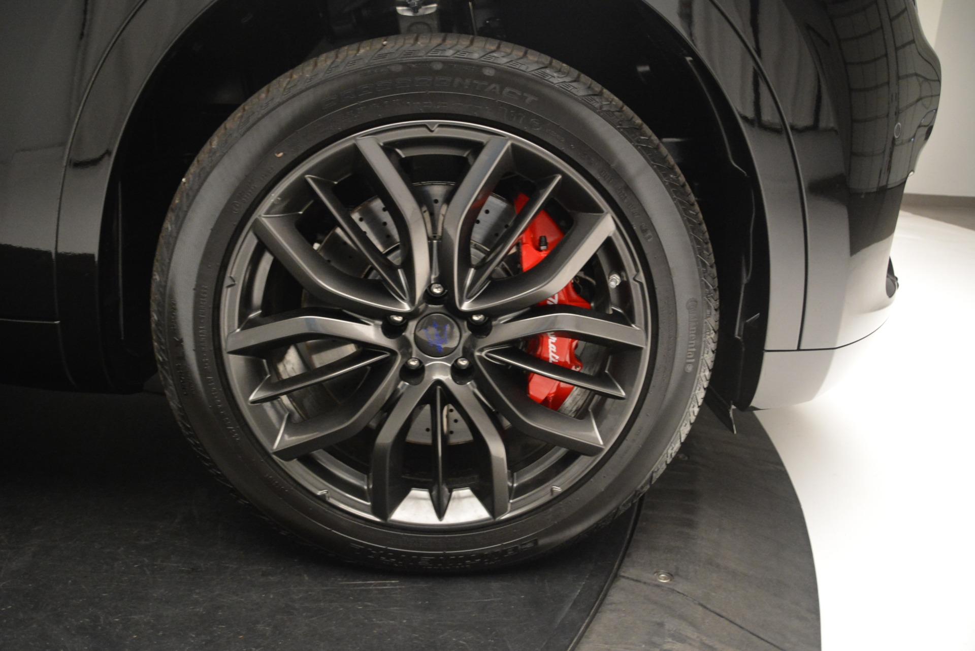 New 2018 Maserati Levante S Q4 GranSport Nerissimo   Greenwich, CT