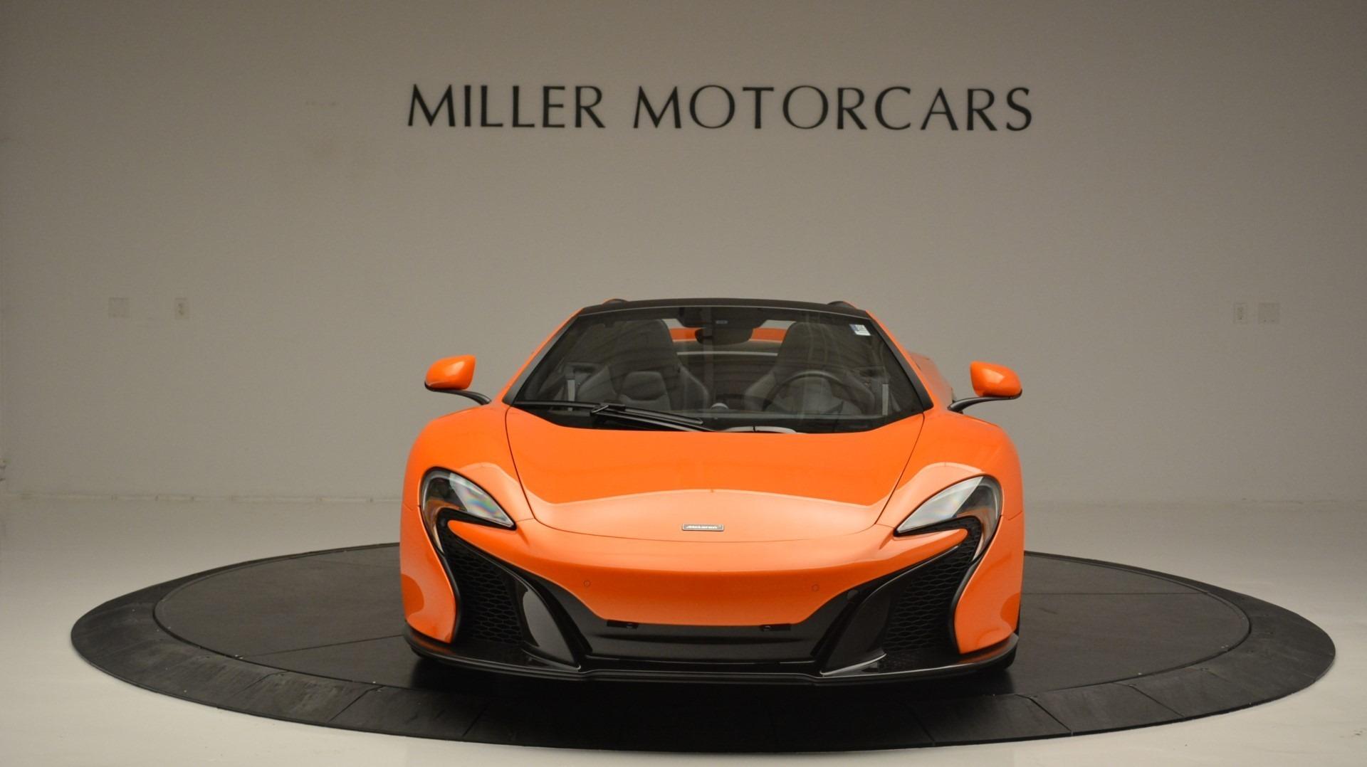 Used 2015 McLaren 650S Spider Convertible | Greenwich, CT