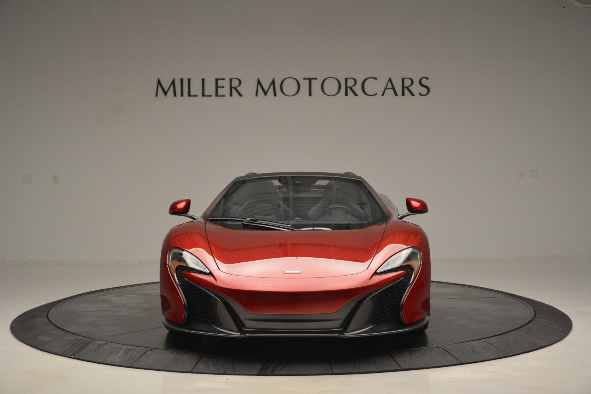 Used 2015 McLaren 650S Spider   Greenwich, CT