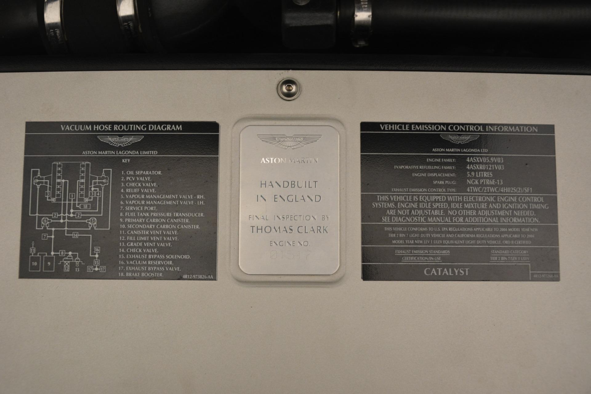 Used 2004 Aston Martin V12 Vanquish  | Greenwich, CT
