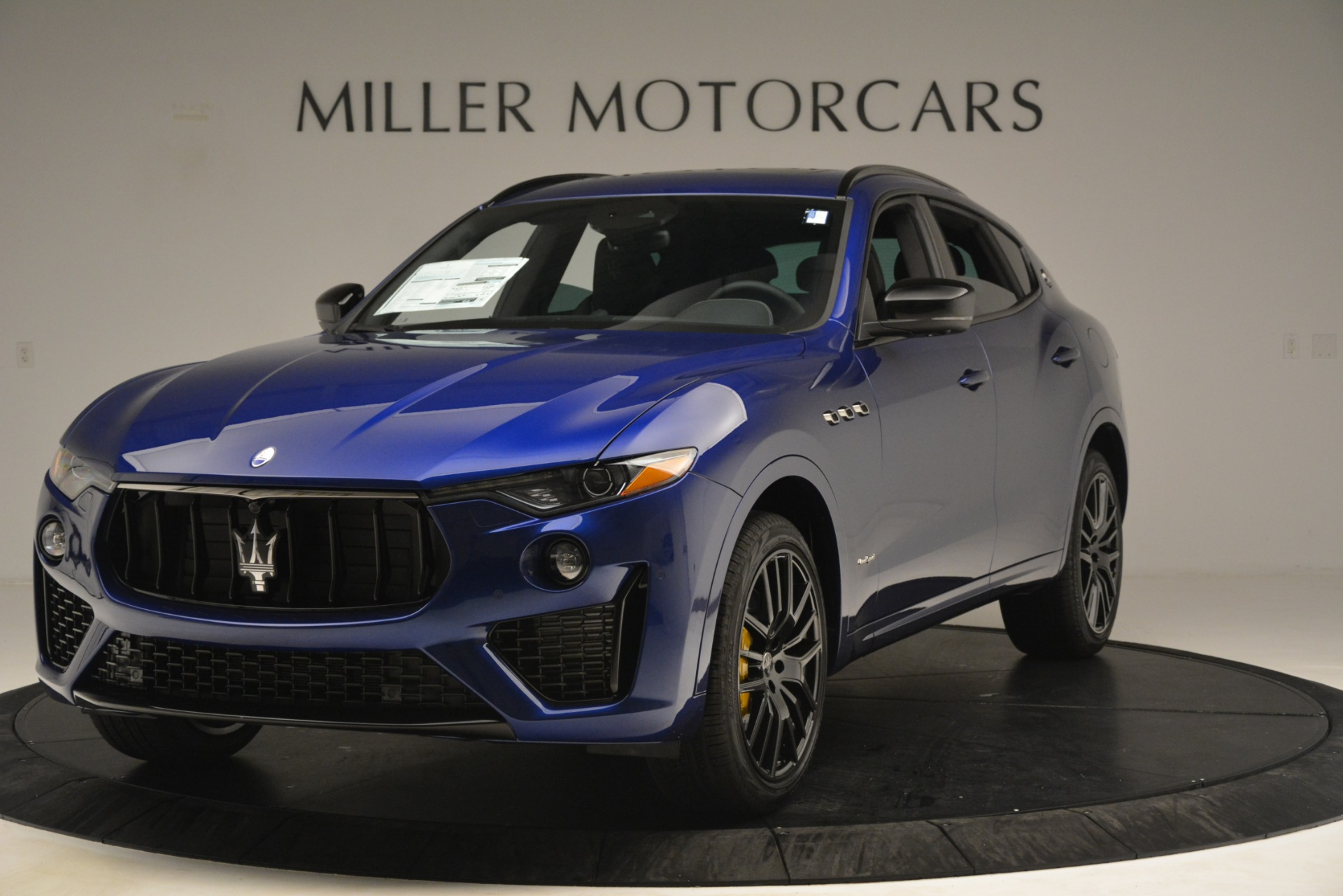 2019 Maserati Levante SQ4 GranSport Nerissimo Stock # M2308 for sale