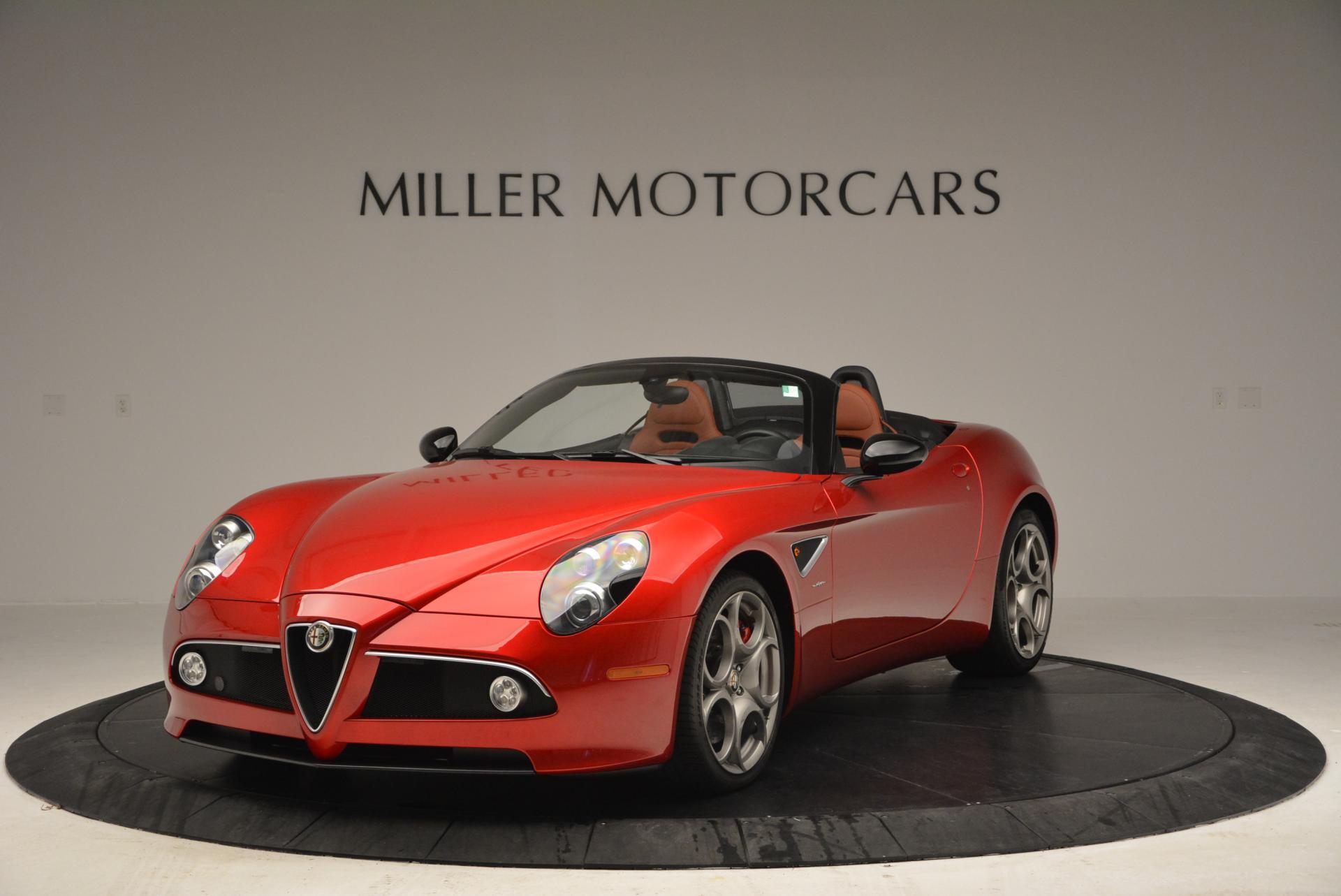 Used 2009 Alfa Romeo 8C Competizione Spider for sale $353,900 at Bugatti of Greenwich in Greenwich CT 06830 1