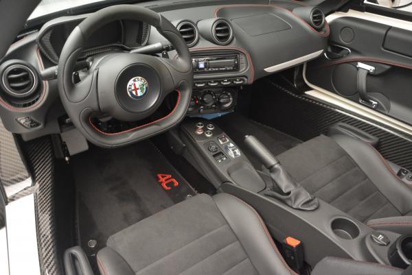 New 2015 Alfa Romeo 4C Spider for sale Sold at Bugatti of Greenwich in Greenwich CT 06830 24
