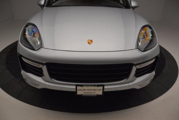 Used 2016 Porsche Cayenne Turbo for sale Sold at Bugatti of Greenwich in Greenwich CT 06830 13