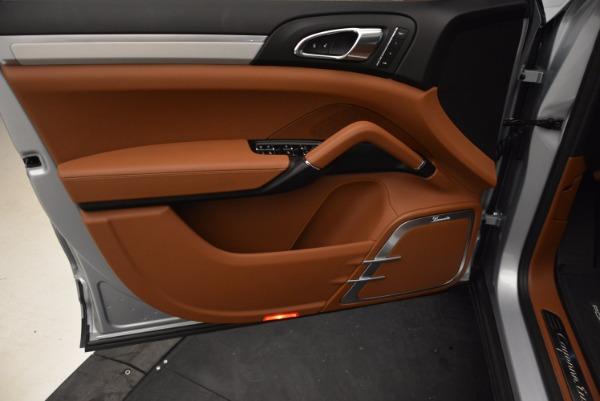Used 2016 Porsche Cayenne Turbo for sale Sold at Bugatti of Greenwich in Greenwich CT 06830 17