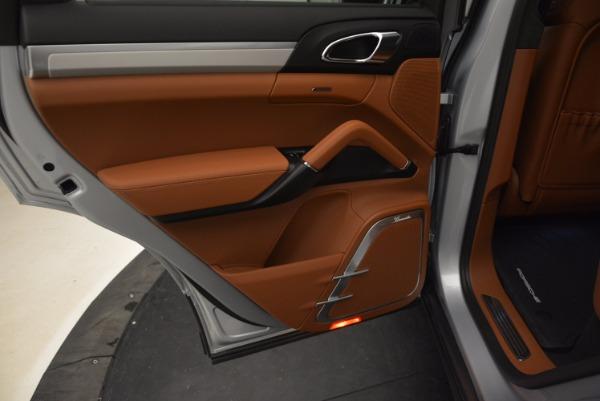 Used 2016 Porsche Cayenne Turbo for sale Sold at Bugatti of Greenwich in Greenwich CT 06830 24