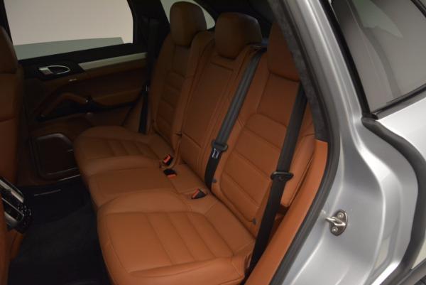 Used 2016 Porsche Cayenne Turbo for sale Sold at Bugatti of Greenwich in Greenwich CT 06830 25