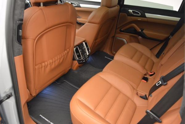 Used 2016 Porsche Cayenne Turbo for sale Sold at Bugatti of Greenwich in Greenwich CT 06830 27