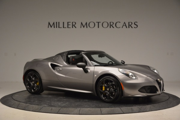 New 2016 Alfa Romeo 4C Spider for sale Sold at Bugatti of Greenwich in Greenwich CT 06830 10