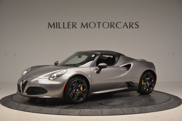New 2016 Alfa Romeo 4C Spider for sale Sold at Bugatti of Greenwich in Greenwich CT 06830 14