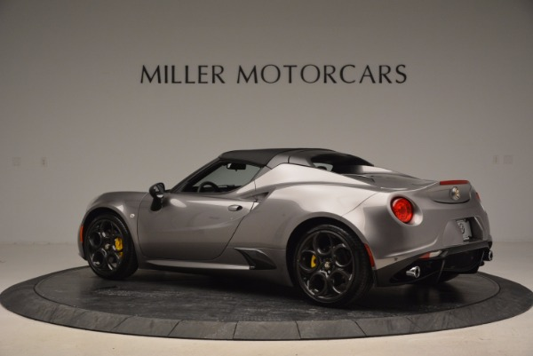 New 2016 Alfa Romeo 4C Spider for sale Sold at Bugatti of Greenwich in Greenwich CT 06830 16