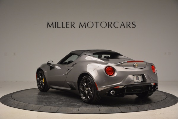 New 2016 Alfa Romeo 4C Spider for sale Sold at Bugatti of Greenwich in Greenwich CT 06830 17