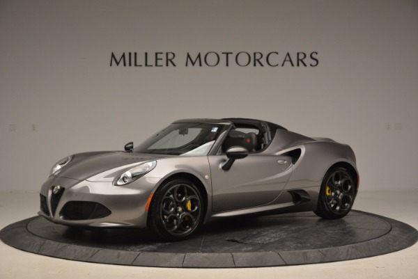 New 2016 Alfa Romeo 4C Spider for sale Sold at Bugatti of Greenwich in Greenwich CT 06830 2