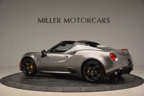 New 2016 Alfa Romeo 4C Spider for sale Sold at Bugatti of Greenwich in Greenwich CT 06830 4