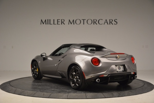 New 2016 Alfa Romeo 4C Spider for sale Sold at Bugatti of Greenwich in Greenwich CT 06830 5