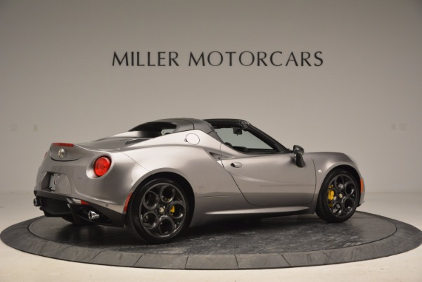 New 2016 Alfa Romeo 4C Spider for sale Sold at Bugatti of Greenwich in Greenwich CT 06830 8
