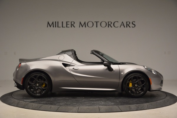 New 2016 Alfa Romeo 4C Spider for sale Sold at Bugatti of Greenwich in Greenwich CT 06830 9