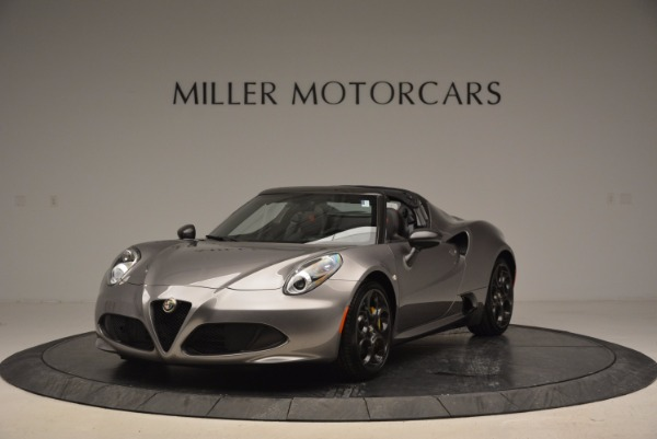 New 2016 Alfa Romeo 4C Spider for sale Sold at Bugatti of Greenwich in Greenwich CT 06830 1