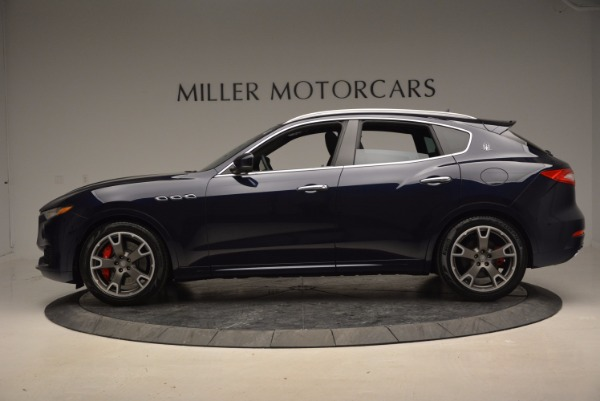New 2017 Maserati Levante S Q4 for sale Sold at Bugatti of Greenwich in Greenwich CT 06830 3