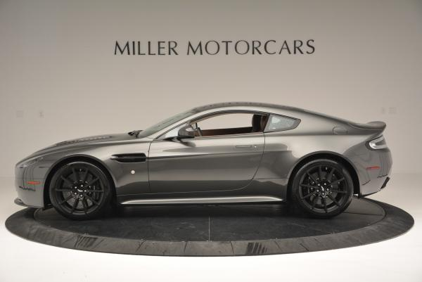 Used 2015 Aston Martin V12 Vantage S for sale Sold at Bugatti of Greenwich in Greenwich CT 06830 3