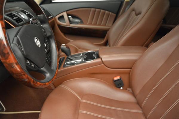 Used 2013 Maserati Quattroporte S for sale Sold at Bugatti of Greenwich in Greenwich CT 06830 14