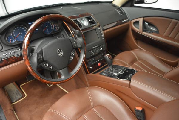 Used 2013 Maserati Quattroporte S for sale Sold at Bugatti of Greenwich in Greenwich CT 06830 15