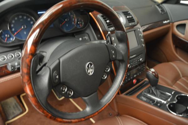 Used 2013 Maserati Quattroporte S for sale Sold at Bugatti of Greenwich in Greenwich CT 06830 16