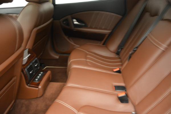 Used 2013 Maserati Quattroporte S for sale Sold at Bugatti of Greenwich in Greenwich CT 06830 18