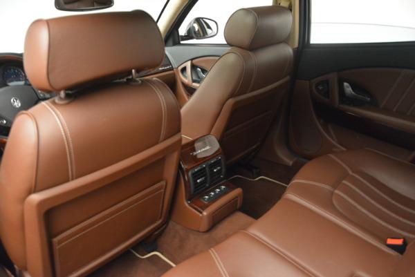 Used 2013 Maserati Quattroporte S for sale Sold at Bugatti of Greenwich in Greenwich CT 06830 19