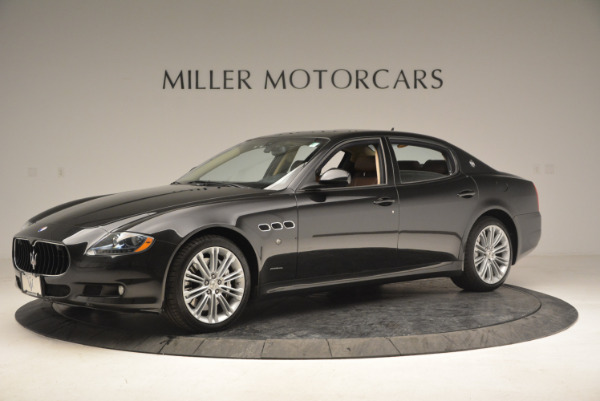 Used 2013 Maserati Quattroporte S for sale Sold at Bugatti of Greenwich in Greenwich CT 06830 2