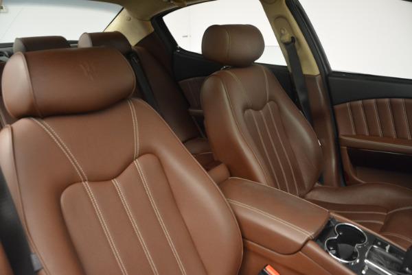 Used 2013 Maserati Quattroporte S for sale Sold at Bugatti of Greenwich in Greenwich CT 06830 20