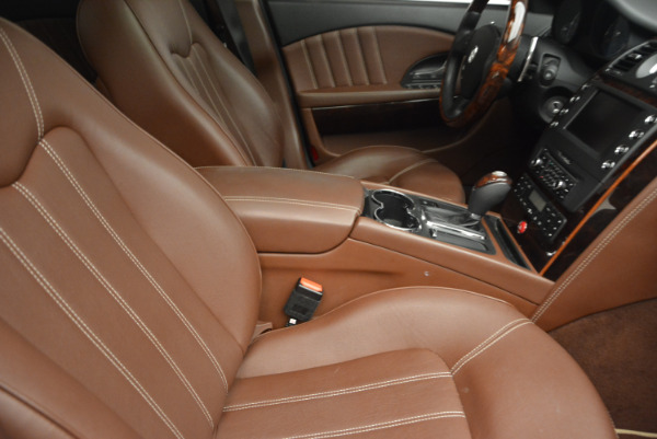 Used 2013 Maserati Quattroporte S for sale Sold at Bugatti of Greenwich in Greenwich CT 06830 21