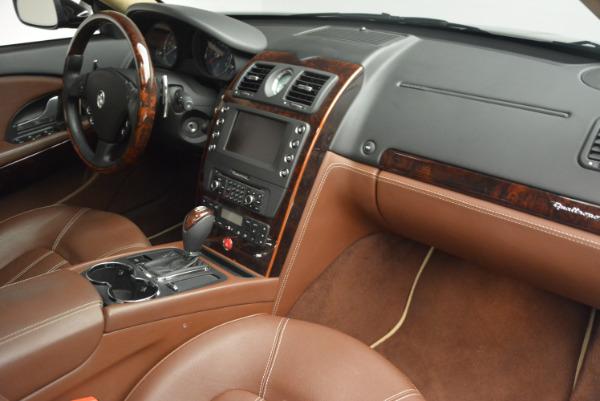 Used 2013 Maserati Quattroporte S for sale Sold at Bugatti of Greenwich in Greenwich CT 06830 22