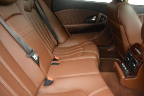Used 2013 Maserati Quattroporte S for sale Sold at Bugatti of Greenwich in Greenwich CT 06830 24