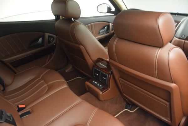 Used 2013 Maserati Quattroporte S for sale Sold at Bugatti of Greenwich in Greenwich CT 06830 25