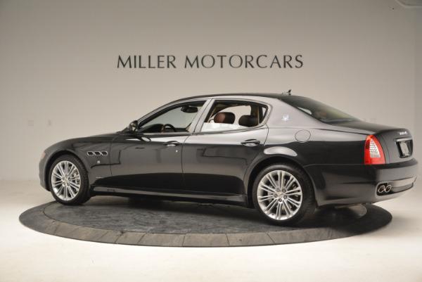 Used 2013 Maserati Quattroporte S for sale Sold at Bugatti of Greenwich in Greenwich CT 06830 4