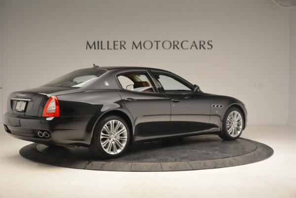 Used 2013 Maserati Quattroporte S for sale Sold at Bugatti of Greenwich in Greenwich CT 06830 8