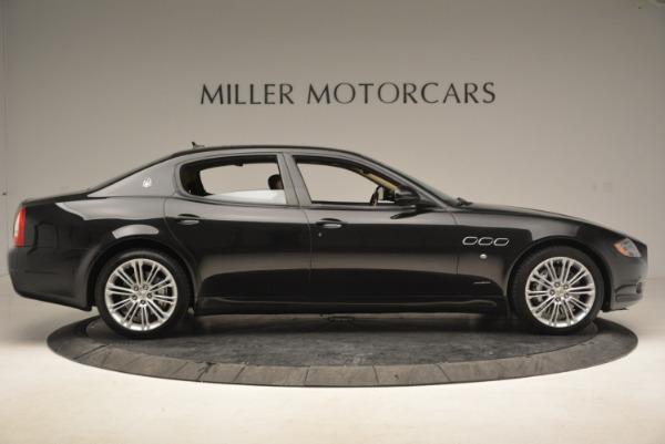Used 2013 Maserati Quattroporte S for sale Sold at Bugatti of Greenwich in Greenwich CT 06830 9