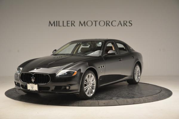 Used 2013 Maserati Quattroporte S for sale Sold at Bugatti of Greenwich in Greenwich CT 06830 1