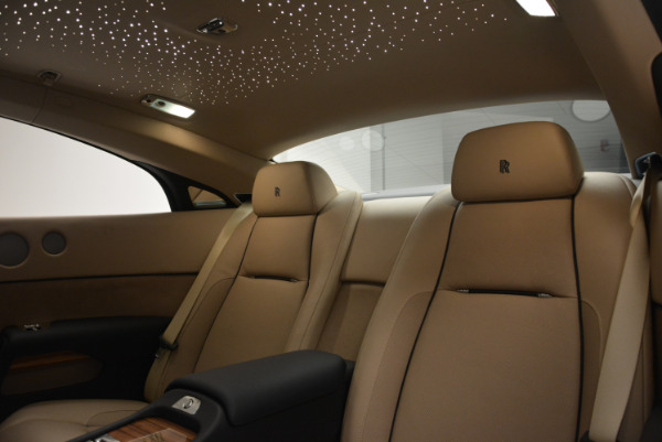 Used 2015 Rolls-Royce Wraith for sale Sold at Bugatti of Greenwich in Greenwich CT 06830 22