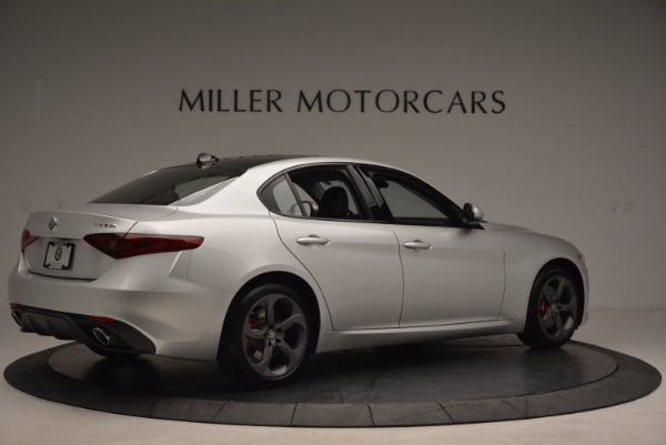 New 2017 Alfa Romeo Giulia Ti Q4 for sale Sold at Bugatti of Greenwich in Greenwich CT 06830 8
