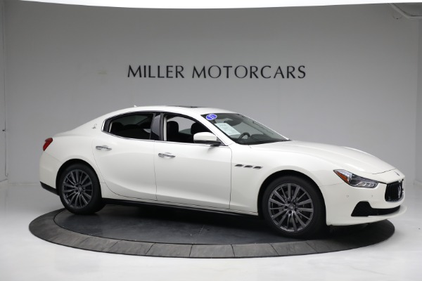 New 2017 Maserati Ghibli S Q4 EX-Loaner for sale Sold at Bugatti of Greenwich in Greenwich CT 06830 10