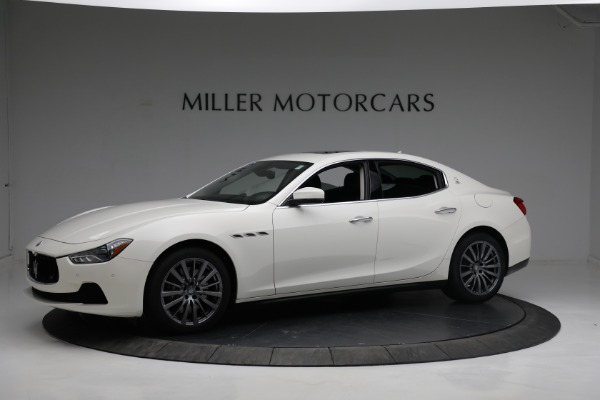 New 2017 Maserati Ghibli S Q4 EX-Loaner for sale Sold at Bugatti of Greenwich in Greenwich CT 06830 2