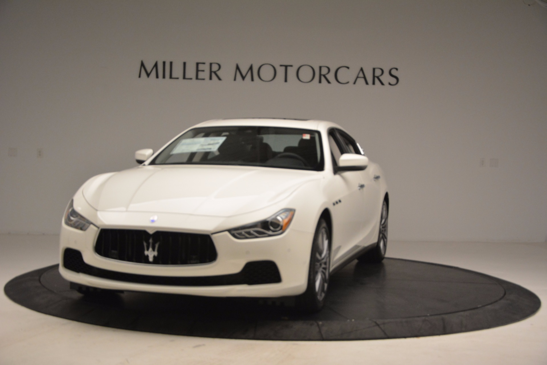 New 2017 Maserati Ghibli S Q4 EX-Loaner for sale Sold at Bugatti of Greenwich in Greenwich CT 06830 1