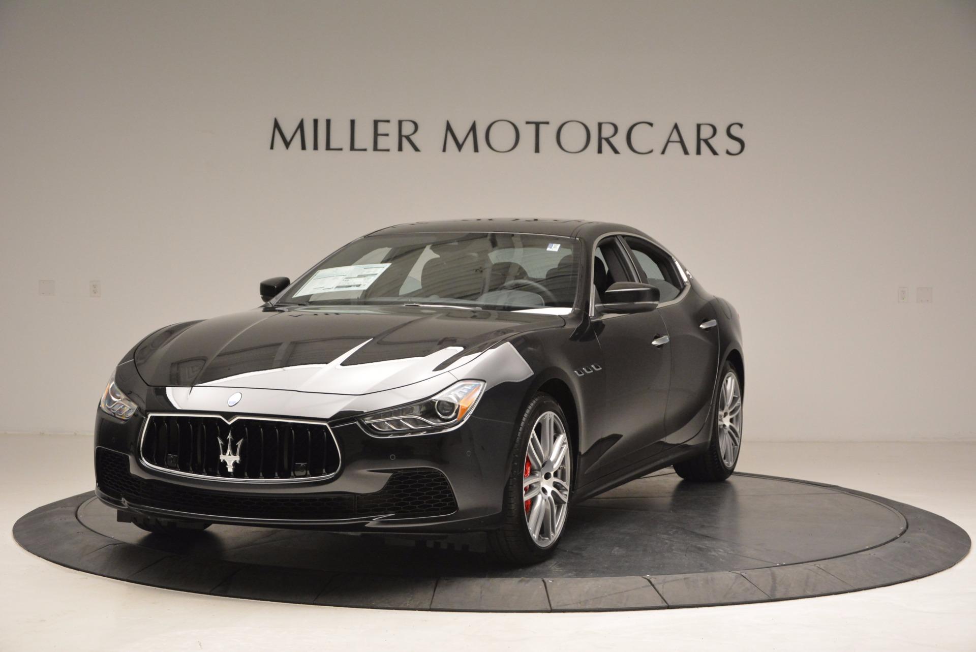 New 2017 Maserati Ghibli SQ4 for sale Sold at Bugatti of Greenwich in Greenwich CT 06830 1