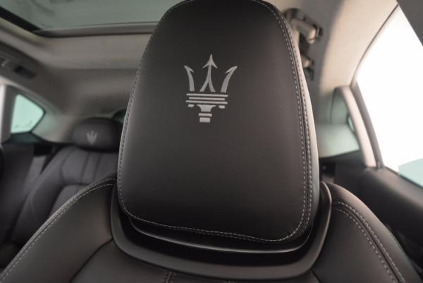 Used 2017 Maserati Levante for sale Sold at Bugatti of Greenwich in Greenwich CT 06830 17