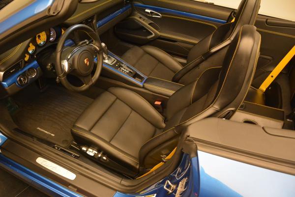 Used 2014 Porsche 911 Turbo S for sale Sold at Bugatti of Greenwich in Greenwich CT 06830 17