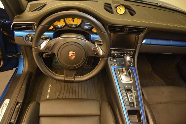 Used 2014 Porsche 911 Turbo S for sale Sold at Bugatti of Greenwich in Greenwich CT 06830 19