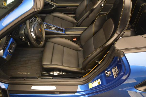 Used 2014 Porsche 911 Turbo S for sale Sold at Bugatti of Greenwich in Greenwich CT 06830 20
