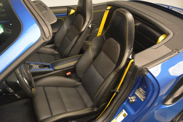 Used 2014 Porsche 911 Turbo S for sale Sold at Bugatti of Greenwich in Greenwich CT 06830 21